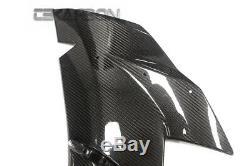 2015 2019 Kawasaki Ninja H2 Carbon Fiber Large Side Fairings 2x2 twill