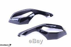 2015-2019 R1 R1M R1S Carbon Fiber Mirrors Signal Cover Fairing Guard Twill Weave