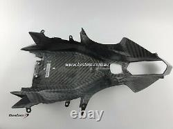 2015-2019 R1 R1M R1S Carbon Fiber Undertail Tail Tray Cowl Fairing Twill Weave