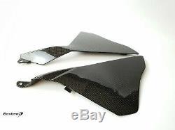 2015-2019 R1 R1S R1M Twill Carbon Fiber Side Panel ECU Cover Fairing 2017 2016