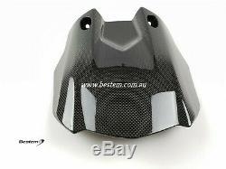 2015-2019 Yamaha R1 R1M R1S Rear Hugger Mud Guard Fender TWILL Carbon Fiber 2017