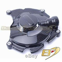 2015-2019 Yamaha R1 R1S R1M FZ10 Carbon Fiber Gearbox Case Cover Guard Twill