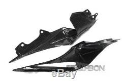 2015 2019 Yamaha YZF R1 Carbon Fiber Inner Tail Side Panels 2x2 twill