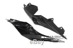 2015 2019 Yamaha YZF R1 Carbon Fiber Inner Tail Side Panels 2x2 twill weave