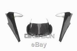 2015 2019 Yamaha YZF R1 Carbon Fiber Nose Fairing Cover 2x2 twill weaves