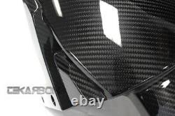 2015 2020 Kawasaki ZX10R / H2 Carbon Fiber Front Fender Mud guard 2x2 Twill