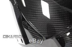 2016 2017 Kawasaki ZX10R / 15 17 H2 Carbon Fiber Front Fender- 2x2 twill