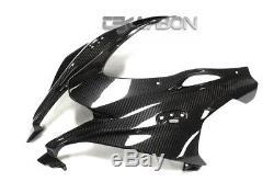 2016 2017 Kawasaki ZX10R Carbon Fiber Front Fairing 2x2 twill weaves