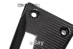 2016 2017 Kawasaki ZX10R Carbon Fiber Rear Frame Covers 2x2 twill weaves