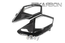 2016 2018 Honda Grom 125 Carbon Fiber Side Tank Panels 2x2 twill weave