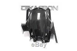 2017 2018 Kawasaki Ninja 650 Carbon Fiber Rear Hugger 2x2 twill weave