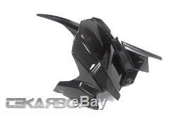 2017 2018 Kawasaki Z900 Carbon Fiber Rear Hugger 2x2 twill weave