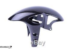 2017-2018 R6 TWILL Carbon Fiber Front Tire Fender Mud Guard Hugger Cowl Fairing