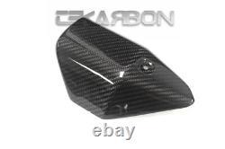 2017 2018 Yamaha FZ10 MT10 Carbon Fiber Exhaust Cover 2x2 twill weave