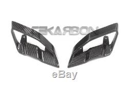 2017 2018 Yamaha FZ10 MT10 Carbon Fiber Front Intake Covers 2x2 twill weave