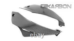 2017 2019 Kawasaki Ninja 650 Carbon Fiber Lower Side Fairings 2x2 twill