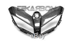 2017 2019 Yamaha FZ09 MT09 Carbon Fiber Front Fairing 2x2 twill