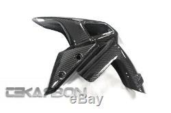 2017 2020 Kawasaki Z900 Carbon Fiber Front Fender 2x2 Twill