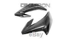 2017 2020 Kawasaki Z900 Carbon Fiber Front Side Fairings 2x2 twill weave