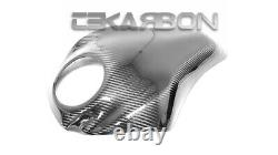 2017 2020 Kawasaki Z900 Carbon Fiber Tank Cover 2x2 twill weave