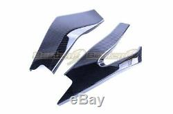 2017-2020 Yamaha R6 Carbon Fiber Swingarm Cover, Twill Weave Pattern