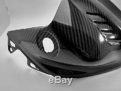 (2017-2020) Yamaha YZF R6 Twill Carbon Fiber Gas Fuel Tank Airbox Cover Fairing