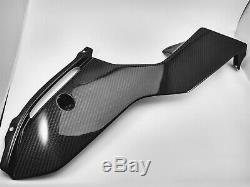 (2017-2020) Yamaha YZF R6 Twill Carbon Fiber Lower Belly Pan Cover Fairing