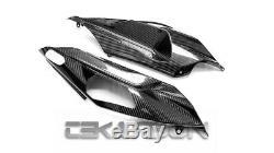 2018 2019 Kawasaki Ninja H2SX Carbon Fiber Tail Side Fairings 2x2 twill