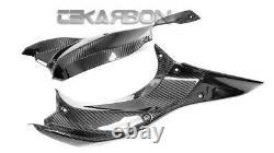 2018 2020 Kawasaki Ninja H2 SX SE Carbon Fiber Side Panels 2x2 twill