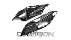2018 2020 Kawasaki Ninja H2 SX SE Carbon Fiber Tail Side Fairings 2x2 twill