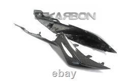 2018 Suzuki GSX-S750 Carbon Fiber Tail Side Fairings 2x2 twill weave