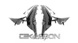 2019 2021 BMW S1000RR Carbon Fiber Air Intake Covers 2x2 twill weaves