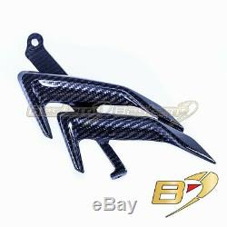 2019+ BMW S1000RR Carbon Fiber Side Panels Middle, Twill Weave Pattern