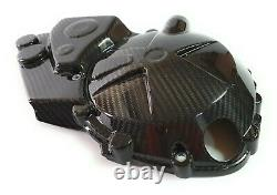 2020+ BMW S1000RR 100% Full Carbon Fiber Engine Covers Right, Twill Weave
