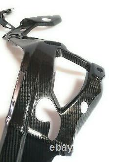 2020+ BMW S1000RR 100% Full Carbon Fiber Frame Covers, Twill Weave Pattern