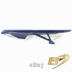 2020+ BMW S1000RR Carbon Fiber Chain Guard, Twill Weave Pattern