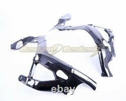 2020+ BMW S1000RR Carbon Fiber Frame Cover Fairing Twill Weave