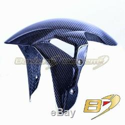 2020+ BMW S1000RR Carbon Fiber Front Fender, Twill Weave Pattern