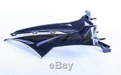 2020+ BMW S1000RR Carbon Fiber Side Panels, Twill Weave Pattern