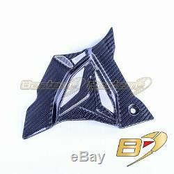 2020+ BMW S1000RR Carbon Fiber Sprocket Cover, Twill Weave Pattern