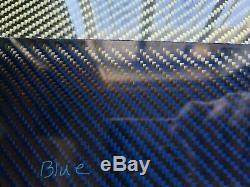 24×24×1/4 2x2 Twill Carbon Fiber Fiberglass Plate Panel GLOSSY BOTH SIDES