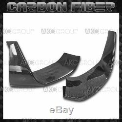 2x Real Carbon Fiber Front Bumper Lip Splitters Body Kit For BMW F80 M3 F82 M4
