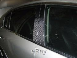 2x2 twill carbon fiber pillar panel covers for 10-16 BENZ W212 E350 E550 E63
