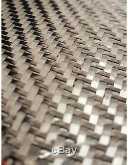 3K 2x2 Twill Weave Carbon Fiber Fabric 50 wide 100 Yard Roll NIB
