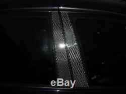 4pc 2x2 Twill Carbon Fiber Pillar Panels Cover For 94-97 Accord Sedan Wagon