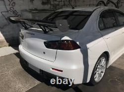 57'' Inch 3D 3DI GT Twill Carbon Fiber Car Rear Spoiler Racing Wing Adjustable S
