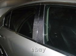6P Twill real carbon fiber pillar panel trim cover For 07-13 V36 G35 G37 Sedan