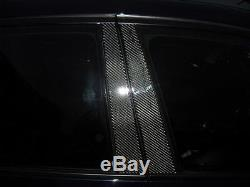 6pc 2x2 Twill Real Carbon Fiber Pillar Panels For 14-17 Is200t Is250 Is350 Sxe30