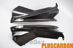Aprilia RSV4 2009-2014 Side Dash Panels Twill Carbon Fiber Glossy Finishing