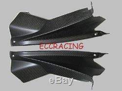Aprilia RSV4 2009-2014 Twill MATT Carbon Fiber Upper Inner Fairings